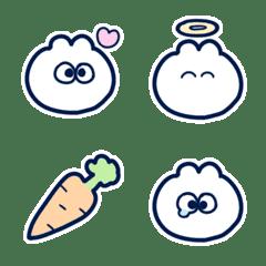 Round rabbit! Emoji