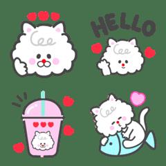 simple cat kitty emoji
