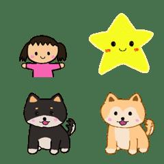 Cute Emoji   Bang & Smiley & Child