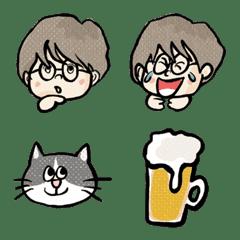 Glasses Lady