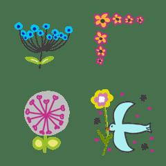Cute pretty flower emoji