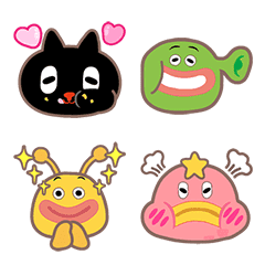 อีโมจิ Kuroro - Space Explorer's Emoji