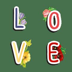 อิโมจิไลน์ ABC by ดอกไม้คอเลคชั่น