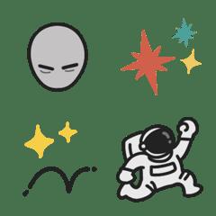 Cute Alien emoji – LINE Emoji   LINE STORE