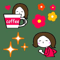 อิโมจิไลน์ natural woman emoji