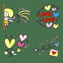 Marin 55 Kirakira heart Emoji