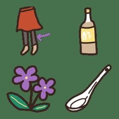 อิโมจิไลน์ Emoji de SHIRITORI 002