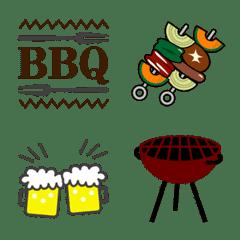 BBQ-pictograph – LINE Emoji | LINE STORE