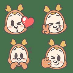 อิโมจิไลน์ Mydeerdog Emoji