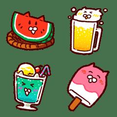 อาหารฤดูร้อนซันนี่วัน-Summer foods Emoji