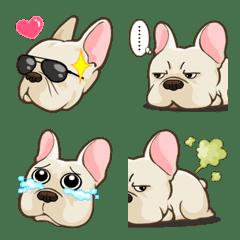 Frenchie Dog Emoji มาแล้วจร้า