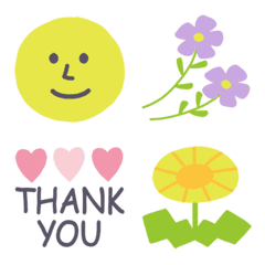 Spring color simple emoji