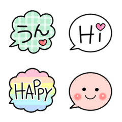 Lovely speech bubbles2