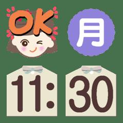 Emoji[Time indication]
