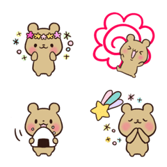 Little bear emoji 1