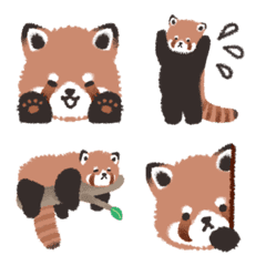 Life with a Red Panda Emoji