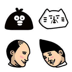 อิโมจิไลน์ BYEBYECHUCHU's Ology and Friends Emoji