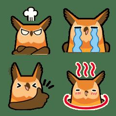 Cute horned owl 2