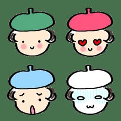 My Emoji Colorful beretver.