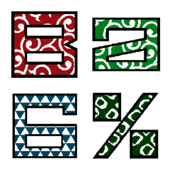 Japanese Pattern.