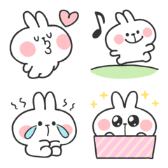 Spoiled Rabbit Doodles Emoji