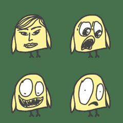 Emoticon : Crazy Chicken Yo Mama