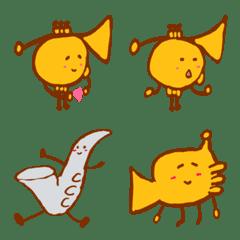 trumpet emoji 2