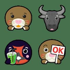 animal friends 12 emoji
