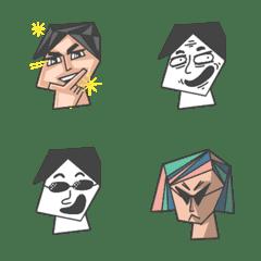 Emoticon : Face 2 Face