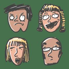 Emoticon : Face 2 Face : Annoying