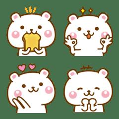 Cute too cute Bear Emoji