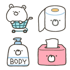 GOOD bear's shopping emoji; commodities