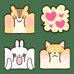 soft and cute animals emoji