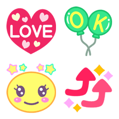 Various cute Emoji