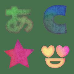 cute watercolor Emoji