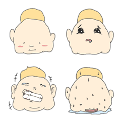 Blonde Mohawk Emoji