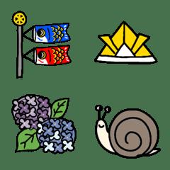 May June emoji