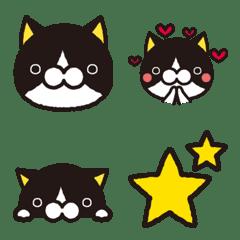 shirokuroneko emoji