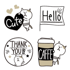 Oshare emoji of the cat by shimao