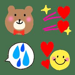 colorful &bear emoji