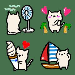 Handwritten kittens in summer days