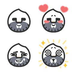 อิโมจิไลน์ Riceman Emoji