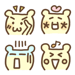 emoticon bear 3