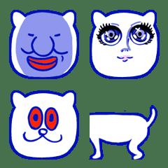 Fascinating and strange cat