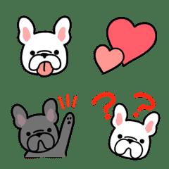 French Bull emoji – LINE Emoji   LINE STORE