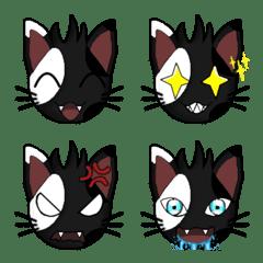 Kytty, the warrior cat – LINE Emoji | LINE STORE