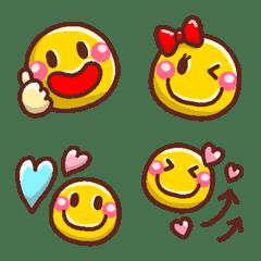 อิโมจิไลน์ NIKONIKO SMILE EMOJI