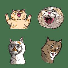 貓似顏表情貼02