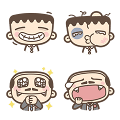 อิโมจิไลน์ I'm Mark: Act Cute Emoji