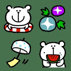 Kumao-Emoji (Summer)